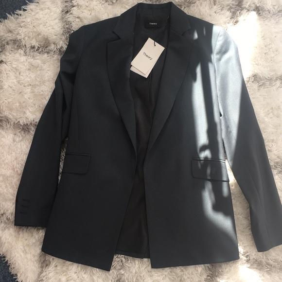 fc4a62687677 Theory Jackets & Coats | Continuous Blazer | Poshmark
